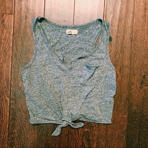 Hollister grey tank top